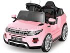 Ride on Car 6v Electric Evoque Style Suv Pink with Parental Radio Control